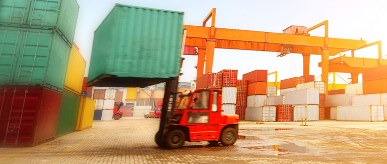 Drayage services. Container transport.