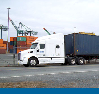 GTL transportation container truck